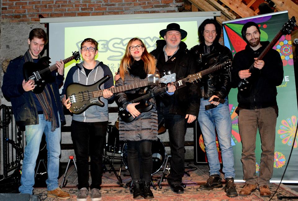 Festival Laško Pivo in cvetje nagradil zmagovalce Rock Vizij 2016